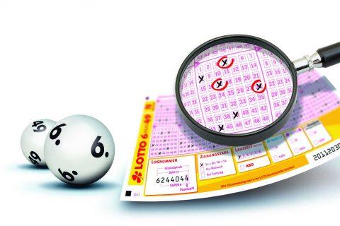 Lotto-Millionär mit 3 Richtigen I www.träumdichlotto.de I Lottoschein 3 Richtige