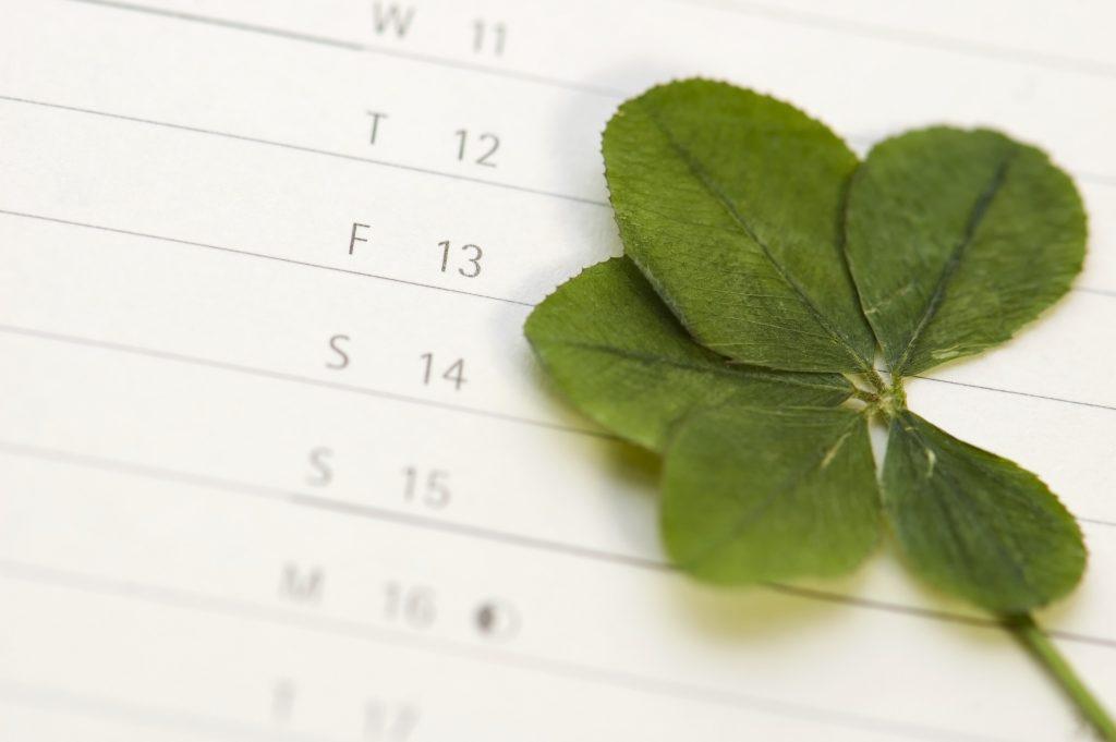 Pech für Eurojackpot-Tipper I Corporate Blog www.lotto-bw.de I Viele Menschen erschrecken beim Blick in den Kalender, wenn der 13. auf einen Freitag fällt.Viele Menschen erschrecken beim Blick in den Kalender, wenn der 13. auf einen Freitag fällt.