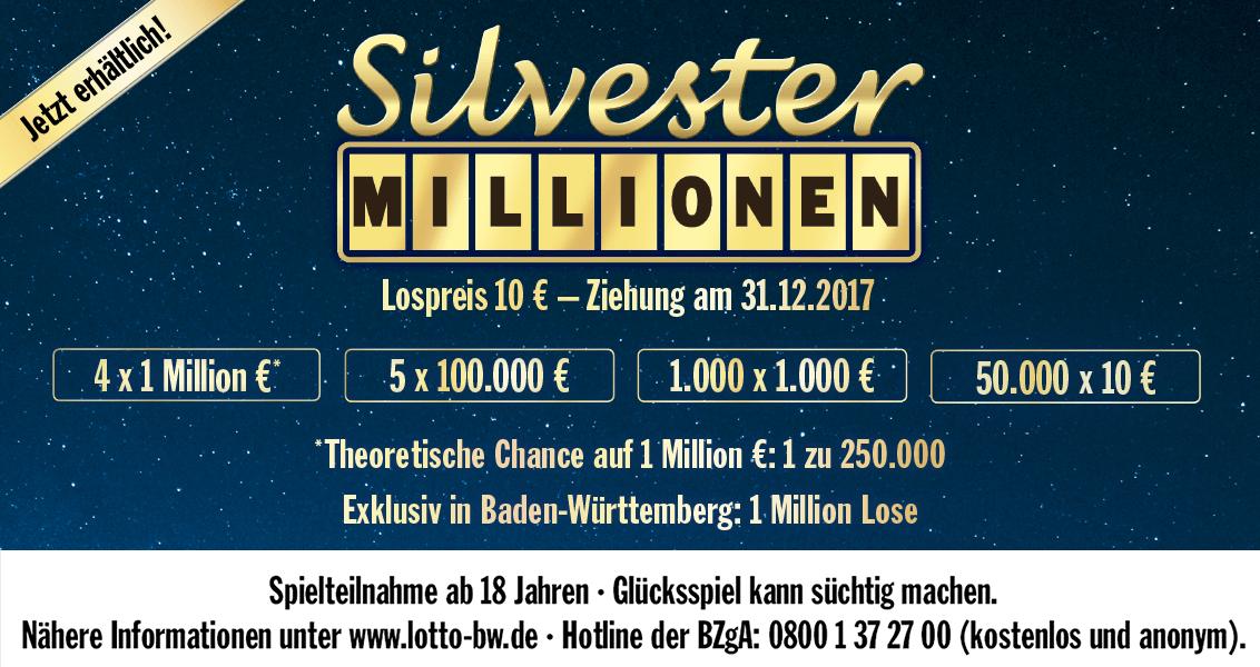 Silvestermillionen Bw