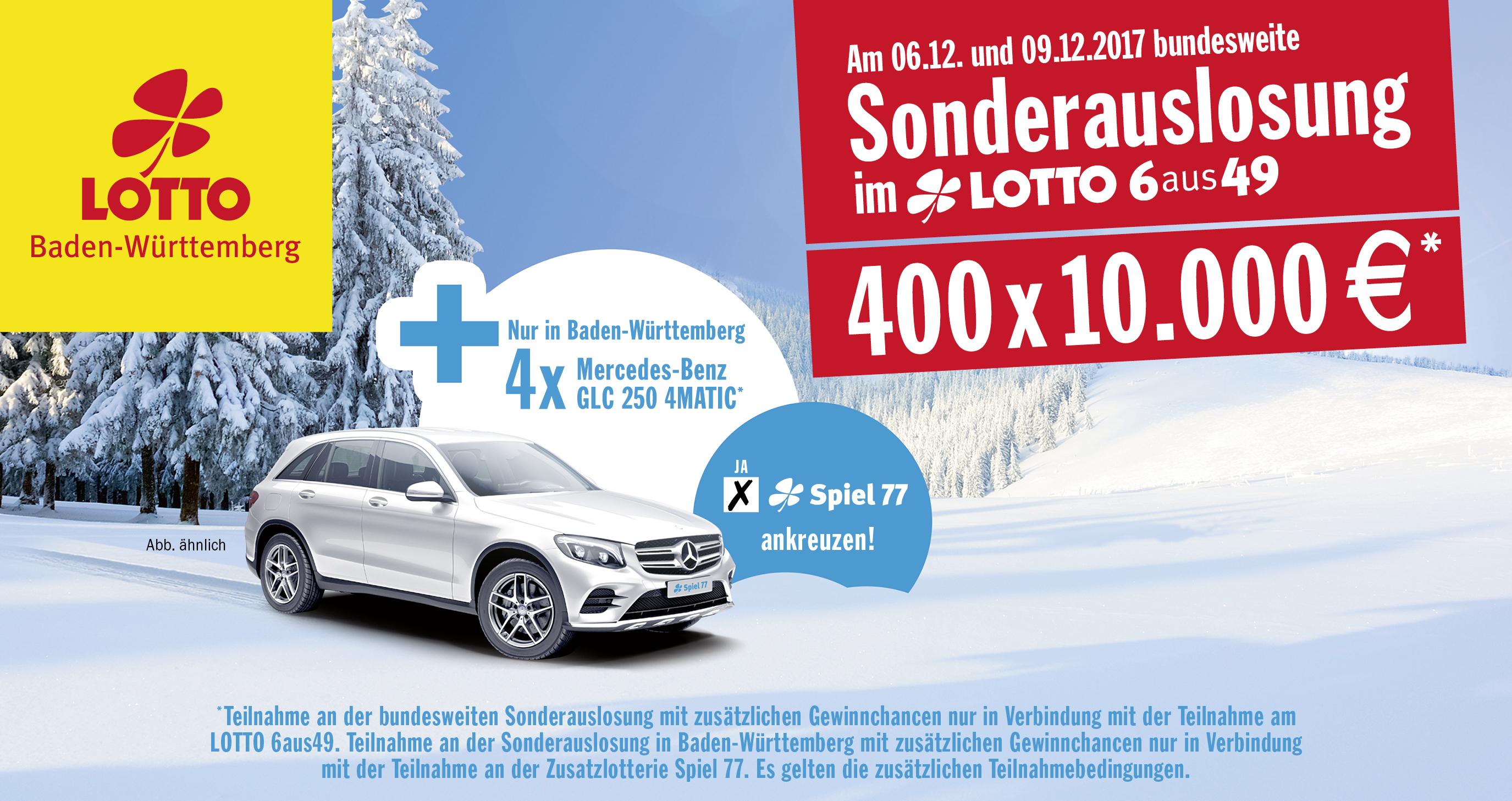 Lotto Sonderauslosung Nikolaus
