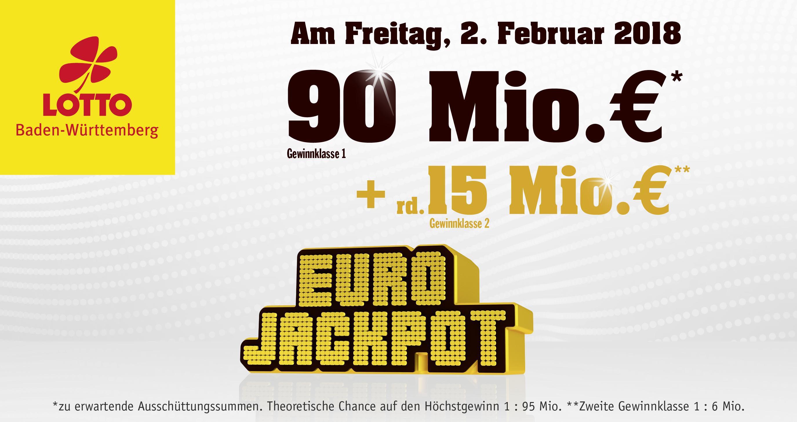 Eurojackpot Zweite GewinnklaГџe