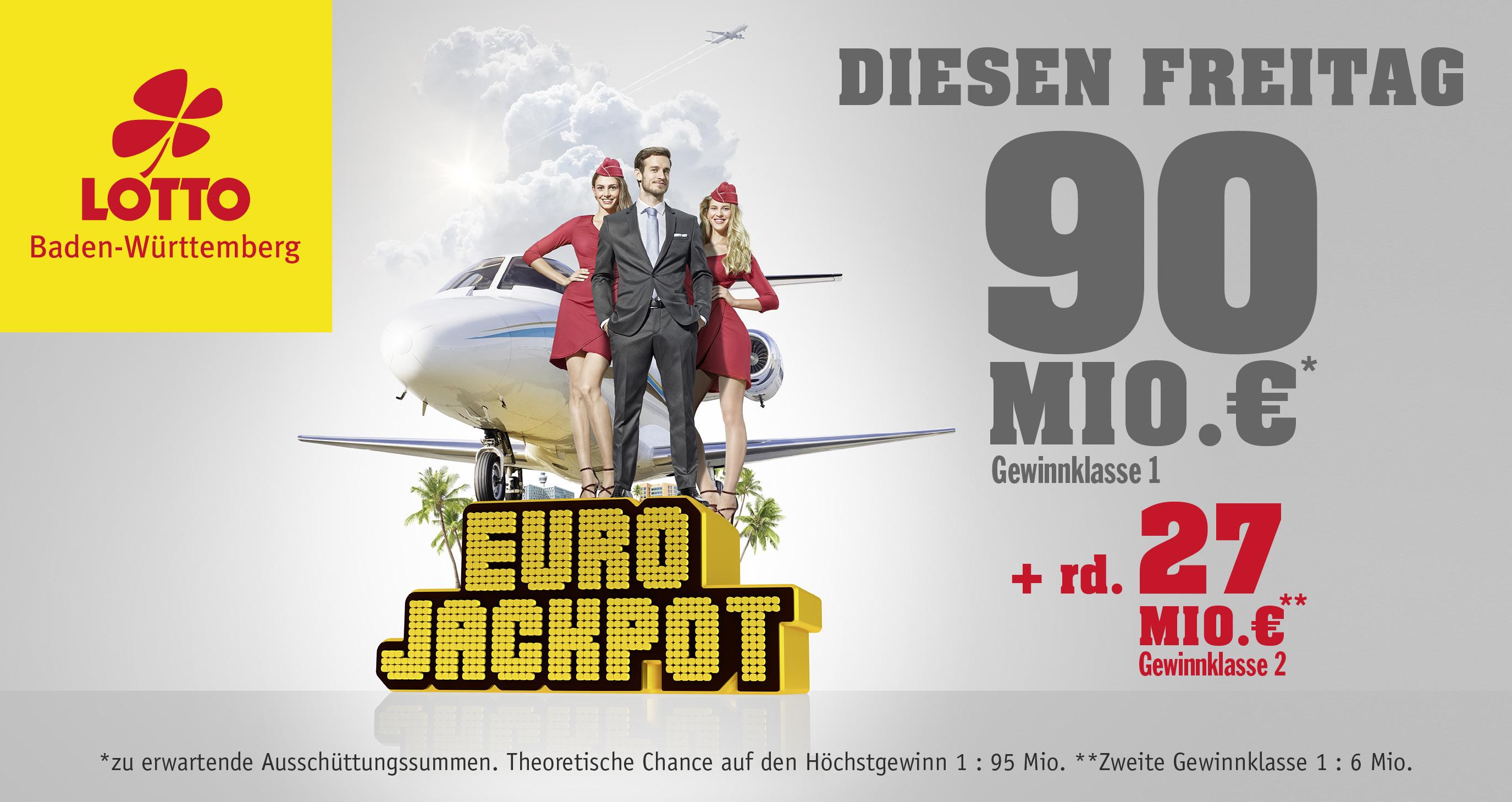 Eurojackpot auf Rekordhoch