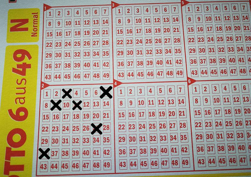 Am 13. Oktober erzielten 13 Lotto-Spieler einen Sechser.