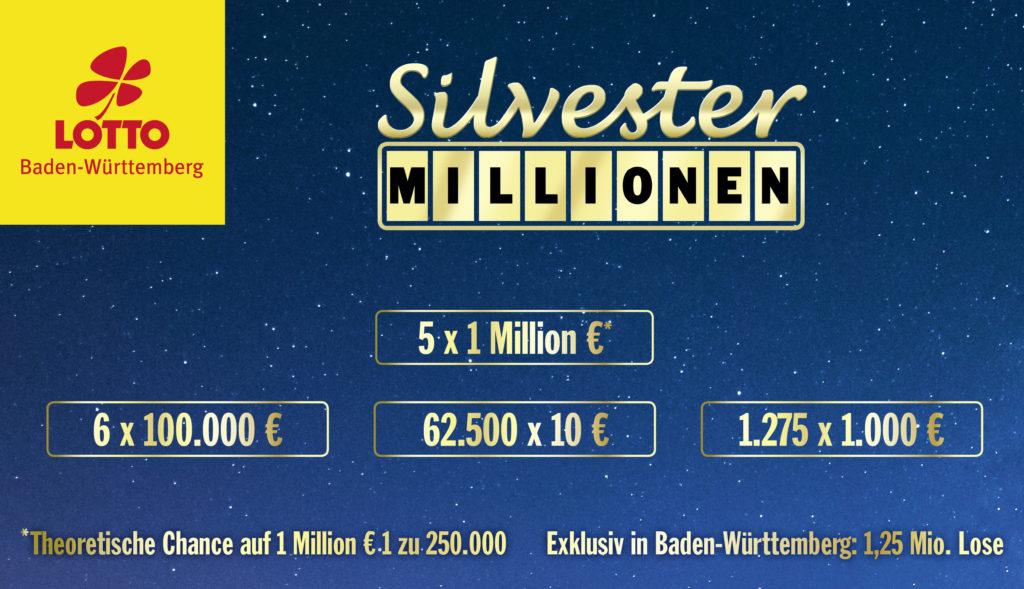 Silvester Millionen Bw