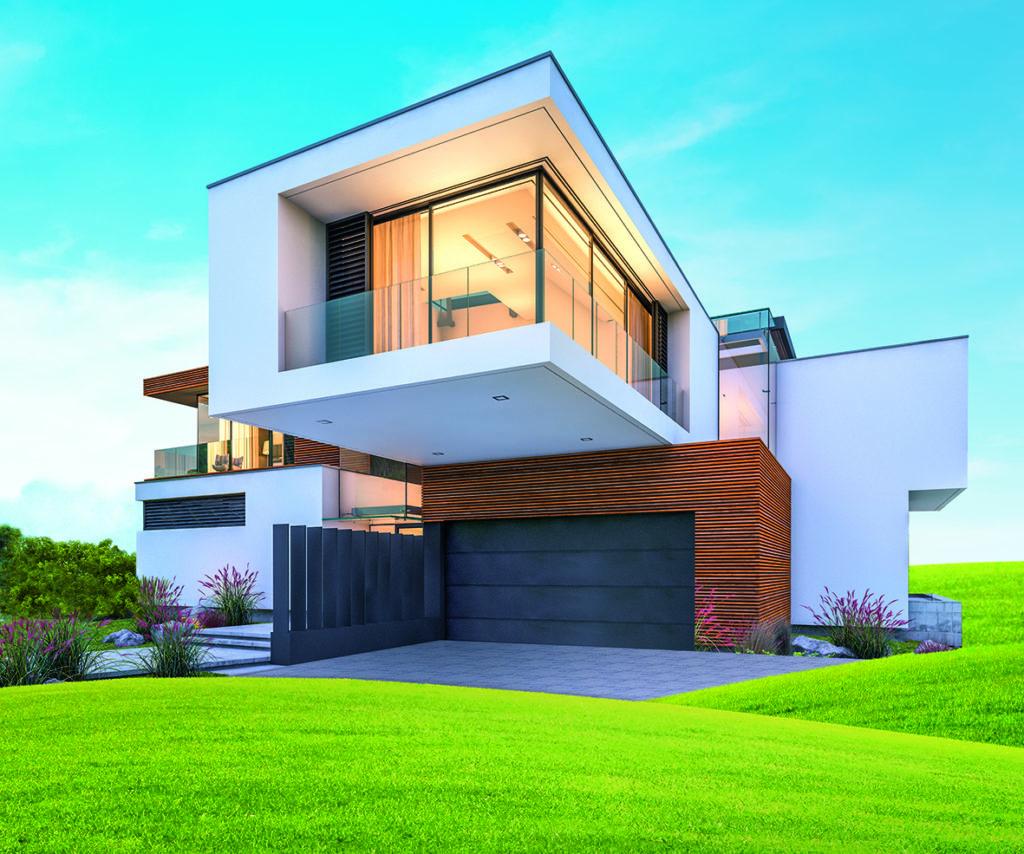 Hier ist ein Beispiel für den Wunsch-Gewinn eines Traumhauses zu sehen