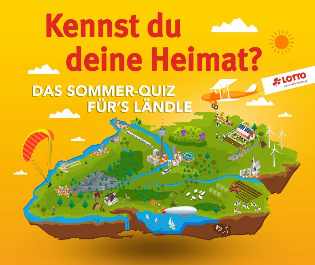 Beim Sommer-Quiz für's Ländle kann man mit viel Wissen um die Heimat tolle Preise gewinnen
